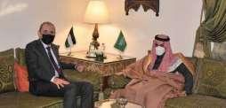 سمو وزير الخارجية يلتقي نائب رئيس الوزراء وزير الخارجية وشؤون المغتربين الأردني