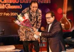 Arts Council of Pakistan Karachi organizes a musical program based on classical music