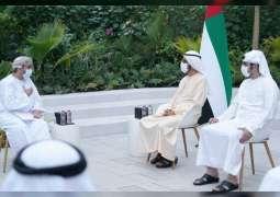Mohammed bin Rashid receives letter from Sultan of Oman