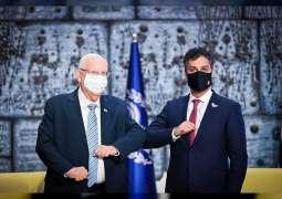UAE Ambassador presents credentials to Israeli President