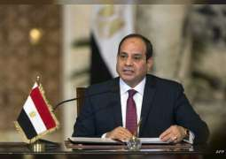 الرئيس المصري يؤكد مساندة بلاده جهود تعزيز السلام والاستقرار كافة في السودان