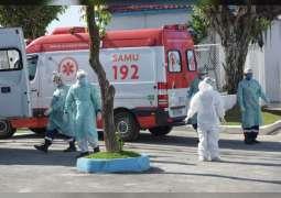 Brazil reports 1,641 new coronavirus deaths