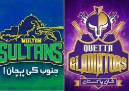 PSL 6 Match 14 Quetta Gladiators Vs. Multan Sultans 3 March 2021: Watch LIVE on TV