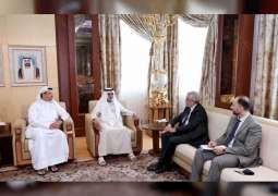 Nahyan bin Mubarak receives Commissioner-General for Italy's Participation in Expo 2020 Dubai