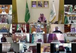 سمو أمير الجوف يرأس اجتماع اللجنة العليا لدعم ومساندة تنفيذ المشروعات بالمنطقة