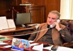 وزیر خارجیة باکستان یجری اتصالا ھاتفیا مع نظیرہ النرویجیة ایني اریکسون سوریدي
