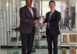 President Huawei Middle East Region Charles Yang calls on PTA Chairman Major General (Retd) Amir Azeem Bajwa