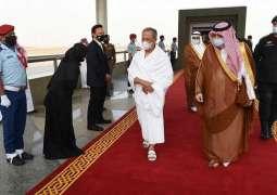 رئيس الوزراء الماليزي يصل إلى جدة