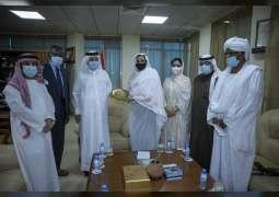 Sudanese Minister of Higher Education receives Al Maktoum Foundation delegation