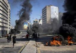 Protesters Block Key Highway Linking Beirut With Lebanon's North