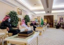 سمو الأمير فيصل بن مشعل يشهد مراسم توقيع اتفاقية مشتركة بين جامعة القصيم ودارة الملك عبدالعزيز