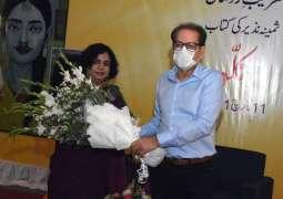 Arts Council of Pakistan Karachi launches Samina Nazir's book