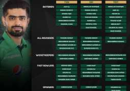 Pakistan squads for South Africa and Zimbabwe announced