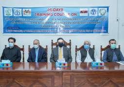 UVAS trains Punjab, KP livestock officers
