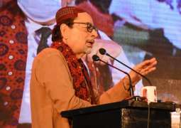 The 4th edition of the Sindh Literature Festival opens at Arts Council Karachi.