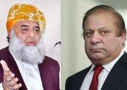 Maulana Fazlur Rehman, Nawaz Sharif discuss hard talk between Maryam Nawaz and Zardari