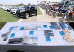 Islamabad police recover looted items worth Rs. 194.8m during ongoing year: IGP