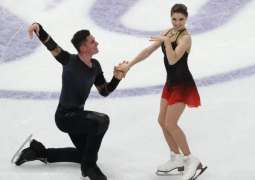 Russia's Mishina, Galliamov Win Pairs Gold in Debute at World Figure Skating Championships