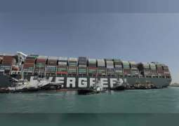 Stranded Suez Canal ship re-floated, marine services firm says