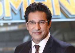 Wasim Akram's picture in 'underwear' goes viral on social media