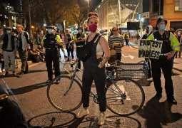 UK Police Praises Peaceful Outcome of 4th 'Kill the Bill' Protest in Bristol