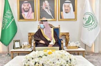 سمو أمير منطقة نجران يقلد مدير جوازات المنطقة رتبة لواء