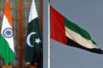 دولة الامارات ترحب بوقف اطلاق النار بین باکستان و الھند فی منطقة کشمیر