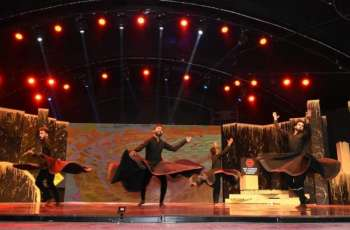 A mesmerizing dance performance by the dance experts Wahab Shah, Mani Chao, and Abdul Ghani set the stage on fire