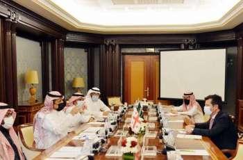 لجنة الصداقة السعودية الجورجية في مجلس الشورى تجتمع بسفير جمهورية جورجيا لدى المملكة
