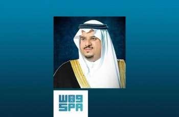 سمو نائب أمير الرياض يطمئن على المتضررين من سقوط شظايا الصاروخ الباليستي