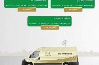 وحدات الأحوال المدنية المتنقلة بمنطقة حائل تقدم خدماتها في ثلاثة مواقع