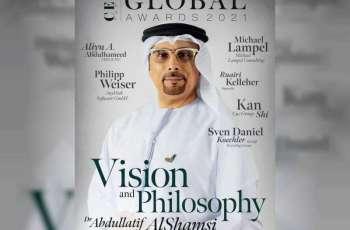 """عبد اللطيف الشامسي أحد أفضل الرؤساء التنفيذيين خلال 2020 في تصنيف لمجلة """"CEO Today"""" العالمية"""