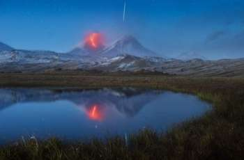 Volcano on Russia's Kuril Islands Spews 2 Ash Columns in Single Day