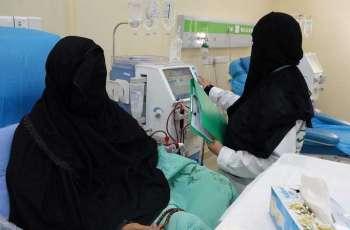 مركز الغسيل الكلوي في المهرة يواصل تقديم خدماته الطبية بدعم مركز الملك سلمان للإغاثة