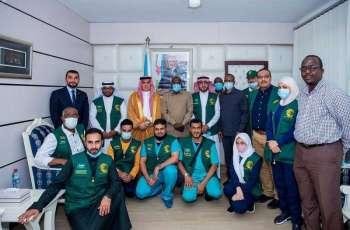 مركز الملك سلمان للإغاثة يختتم حملته الطبية التطوعية للجراحات المتخصصة في جيبوتي