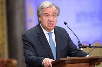 UN Secretary General Guterres Holds a Phone Talk With Iranian Foreign Minister