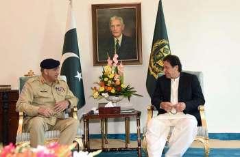 Army Chief calls on PM Imran