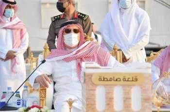 سمو أمير جازان يلتقي بمشايخ وأهالي محافظة صامطة
