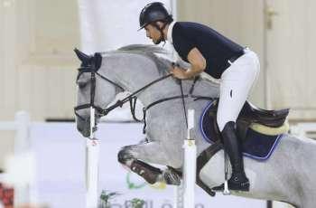 أكثر من 200 فارس في انطلاق منافسات بطولة القفز في ملهم