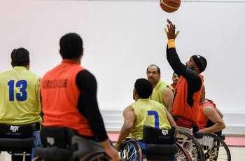 ٤ لقاءات في انطلاق الدوري التصنيفي لكرة السلة على الكراسي المتحركة