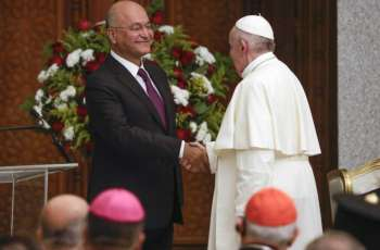 Iraqi President Tells Pope Francis About Dangers of Christian Exodus From Mideast
