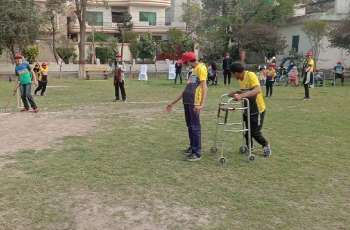 Cricket Match: Differently-able children defeat disability