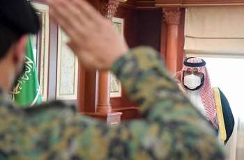 سمو نائب أمير منطقة جازان يتسلم التقرير الإحصائي السنوي لقوات الأفواج بالمنطقة