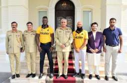 Peshawar Zalmi owner, cricketers call on COAS Gen Qamar Javed Bajwa