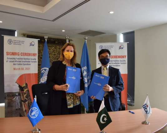 Japan International Cooperation Agency and FAO join hands to enhance food and nutrition security of locust-affected smallholder farmers and control operations