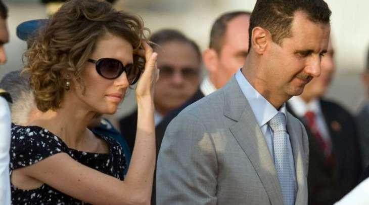 اصابة الرئیس السوري بشار الأسد و زوجتہ بفیروس کورونا المستجد