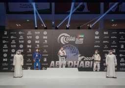 ختام مبهر للنسخة الـ 6 من بطولة أبوظبي جراند سلام للجوجيتسو