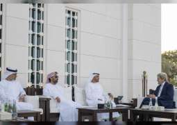 Mohamed bin Zayed receives US Special Presidential Envoy for Climate