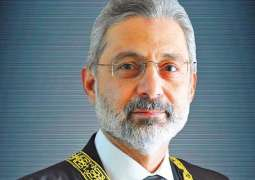 SC bars justice Qazi Faez Isa from making any comment on politicians