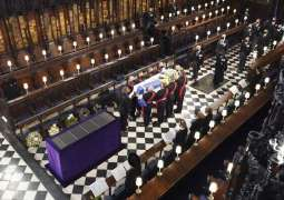 Prince Philip Buried in St. George's Chapel at Windsor Castle
